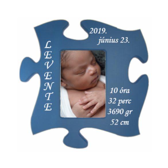 baba képkeret (kék)