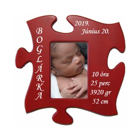 baba képkeret (piros)