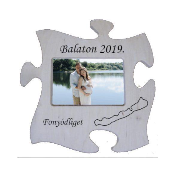Balaton-nyaralás képkeret