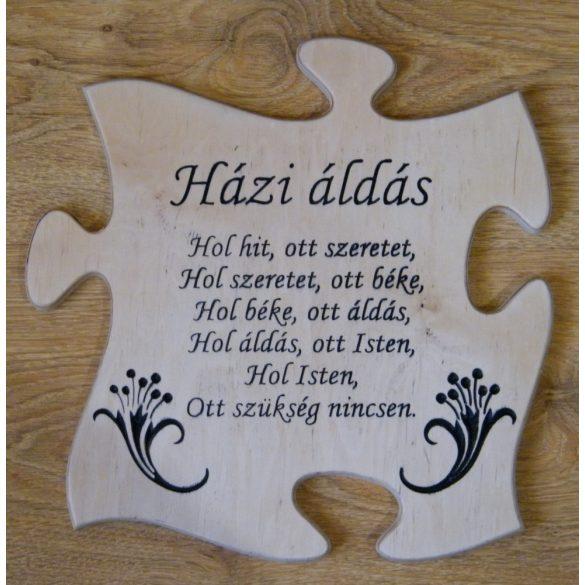 Puzzle Házi áldás falikép