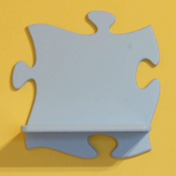 Puzzle gyerek polc (pasztell kék)