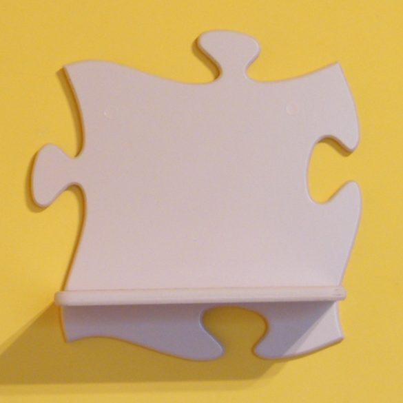 Puzzle gyerek polc (pasztell rózsaszín)