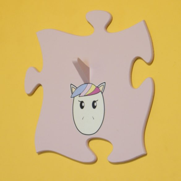 Unikornis fogas (pasztell rózsaszín)