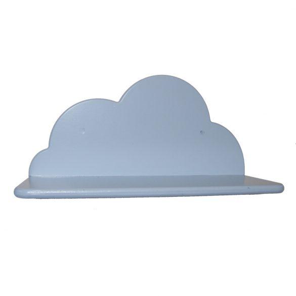 Gyerek felhő polc (kék), 35 cm