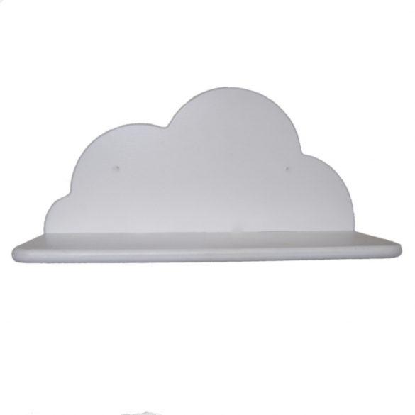 Gyerek felhő polc (fehér), 35 cm