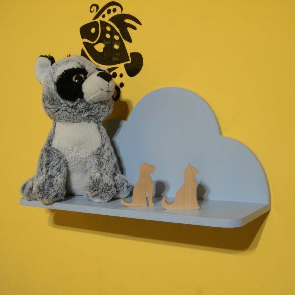 Gyerek felhő polc, 45 cm, többféle színben