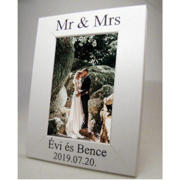 Képkeret esküvőre 13x18cm