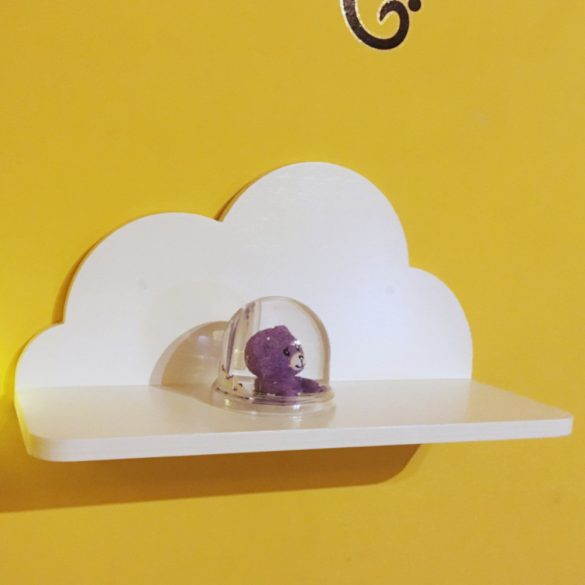 Gyerek felhő polc 35 cm (különféle színekben)