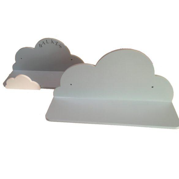 Gyerek felhő polc, 55 cm, előlap nélkül
