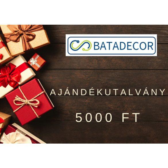 Ajándékutalvány (5000 Ft)